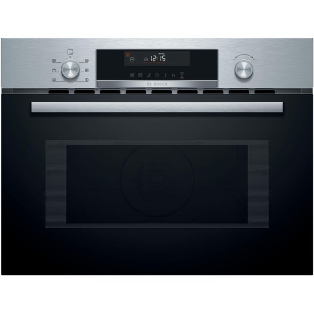 Bosch Serie 6 CMA585GS0B Built In Combination Microwave Oven - Stainless Steel - CMA585GS0B_SS - 1