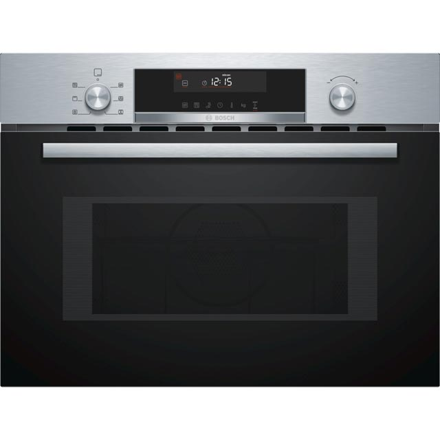 Bosch Serie 6 CMA585MS0B Built In Combination Microwave Oven - Stainless Steel