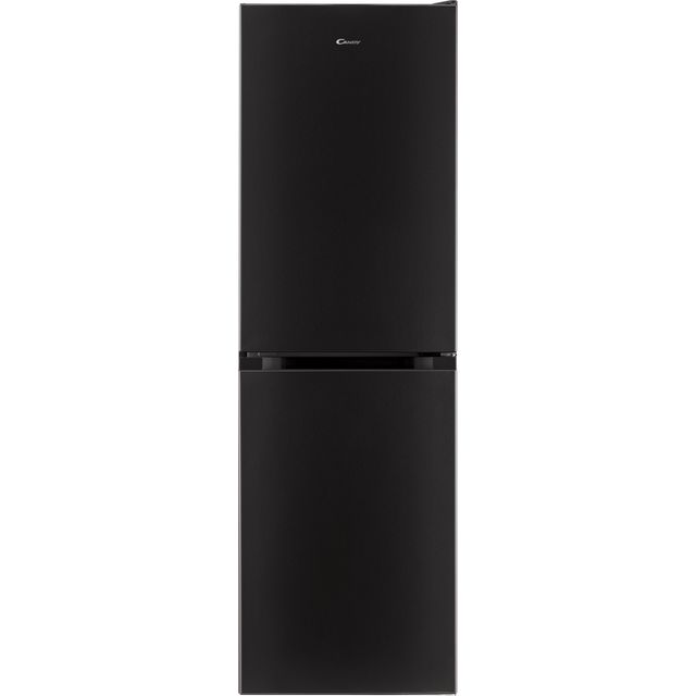 Candy Free Standing Fridge Freezer in Black