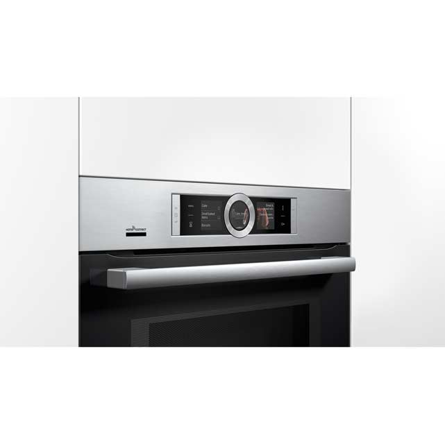 Bosch Serie 8 CMG676BS6B Built In Electric Single Oven - Brushed Steel - CMG676BS6B_BS - 5