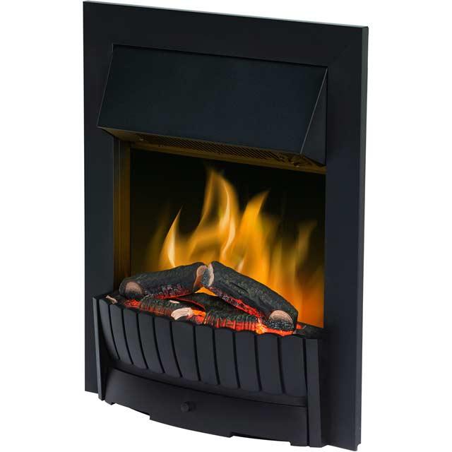 Dimplex Clement CMT20BL Log Effect Inset Fire - Black