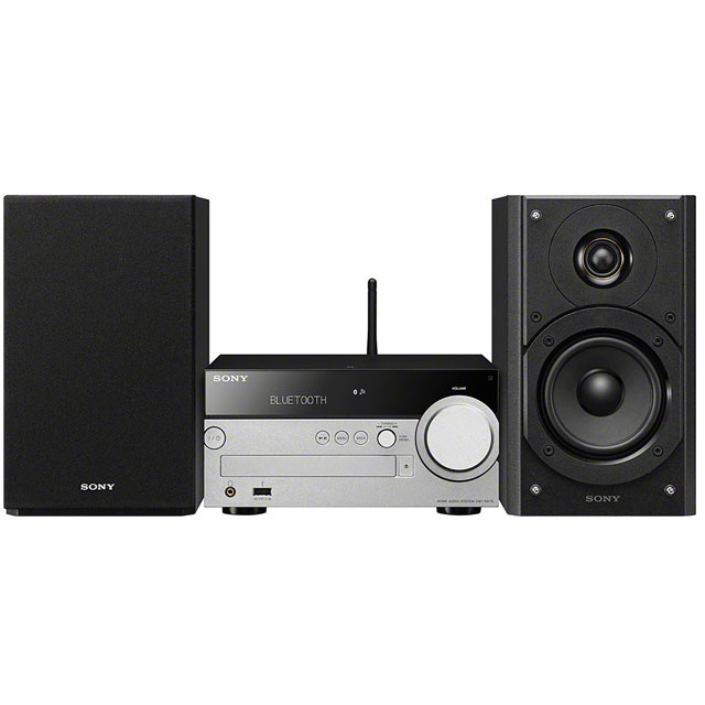 Sony CMTSX7B.CEK 100 Watt Hi-Fi System with Bluetooth - Black - CMTSX7B.CEK - 1