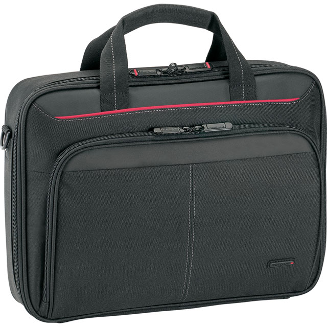 "Targus Classic Clamshell Laptop Bag for 13.3"" Laptop - Black - CN313 - 1"