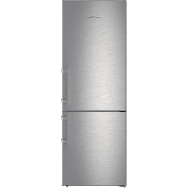 Liebherr CNef5715 60/40 Frost Free Fridge Freezer - Stainless Steel - A+++ Rated - CNef5715_SS - 1