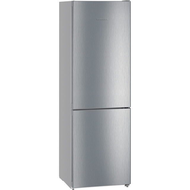 Liebherr CNel4313 60/40 Frost Free Fridge Freezer - Stainless Steel Effect - A++ Rated Best Price, Cheapest Prices