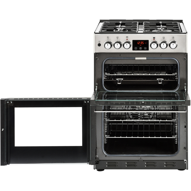 Belling Cookcentre 60DF Dual Fuel Cooker - Stainless Steel - Cookcentre 60DF_SS - 3