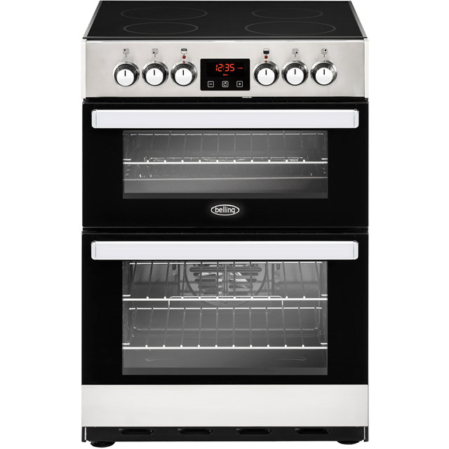 Belling Cookcentre 60E Electric Cooker - Stainless Steel - Cookcentre 60E_SS - 1