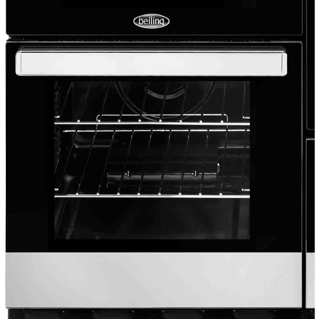 Belling Cookcentre100Ei 100cm Electric Range Cooker - Stainless Steel - Cookcentre100Ei_SS - 4