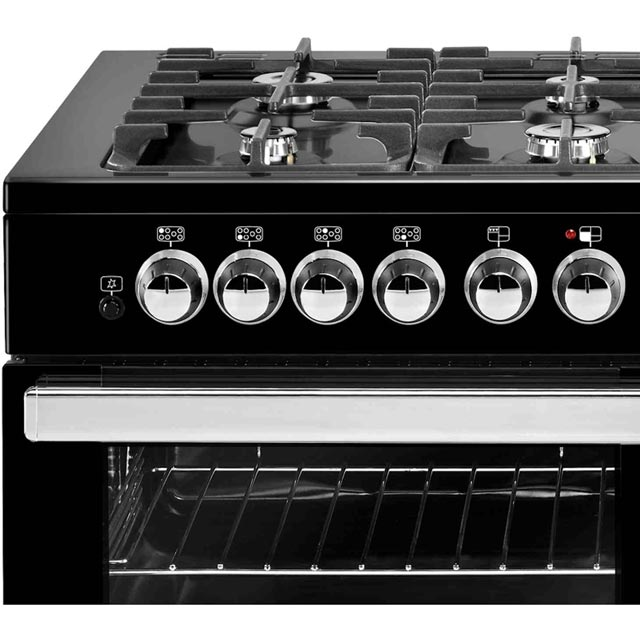 Belling Cookcentre110DFT 110cm Dual Fuel Range Cooker - Black - Cookcentre110DFT_BK - 3