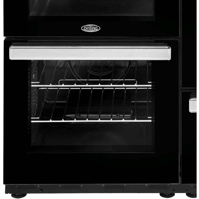 Belling Cookcentre110DFT 110cm Dual Fuel Range Cooker - Black - Cookcentre110DFT_BK - 4