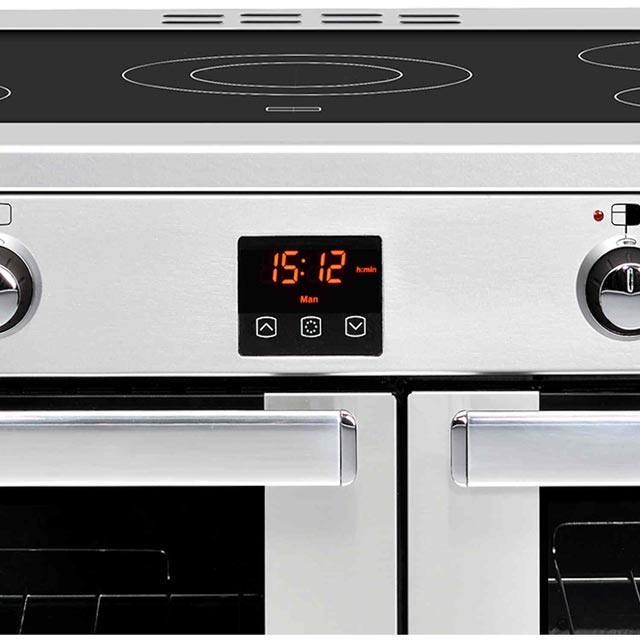 Belling Cookcentre90EProf 90cm Electric Range Cooker - Stainless Steel - Cookcentre90EProf_SS - 2