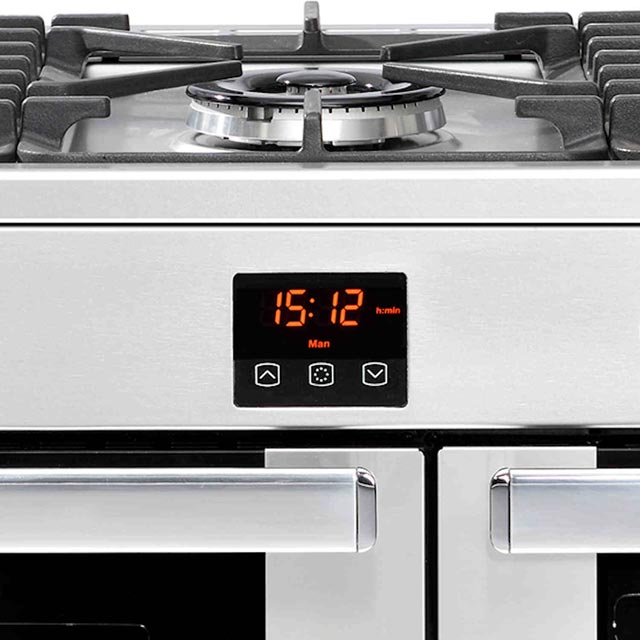 Belling Cookcentre90GProf 90cm Gas Range Cooker - Stainless Steel - Cookcentre90GProf_SS - 2