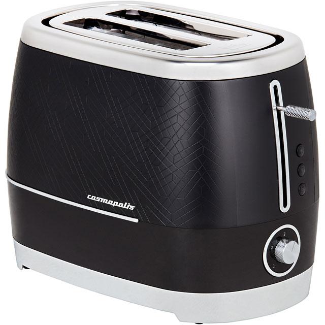 Beko Cosmopolis TAM8202B 2 Slice Toaster - Black
