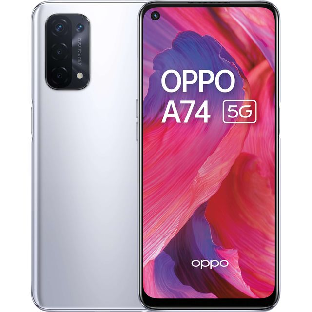 Oppo A74 5G 128 in Silver