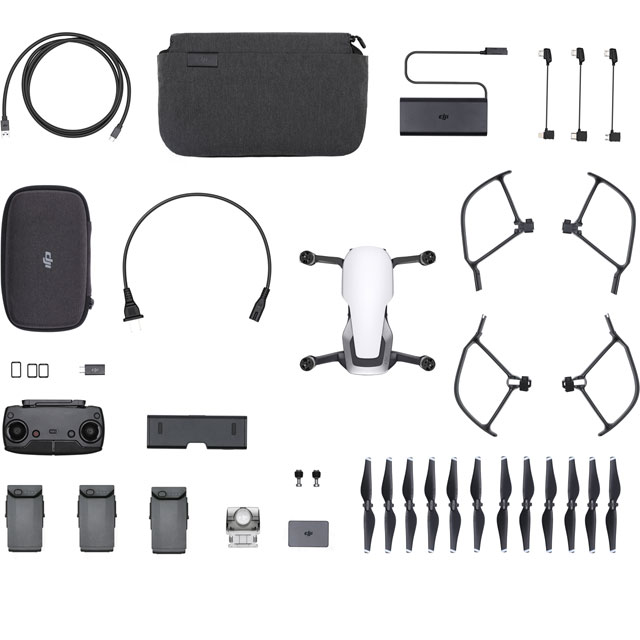 DJI Mavic Air Fly More Combo Drone - Artic White - CP.PT.00000163.01 - 1