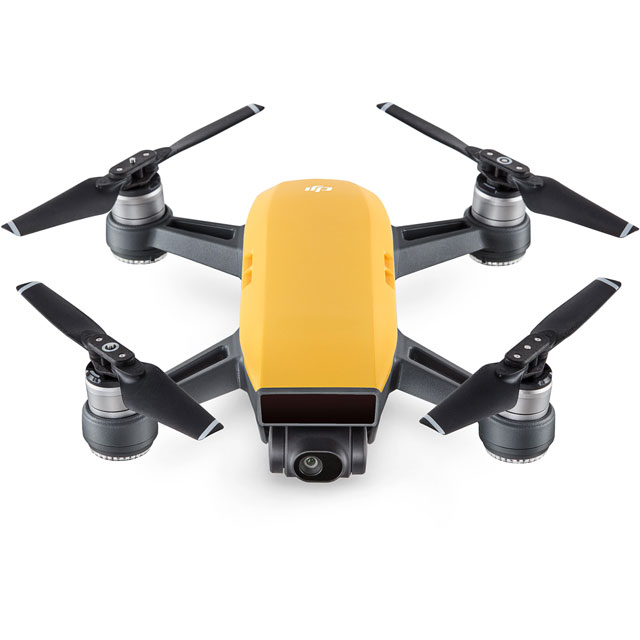 DJI Spark Fly More Combo Drone - Yellow