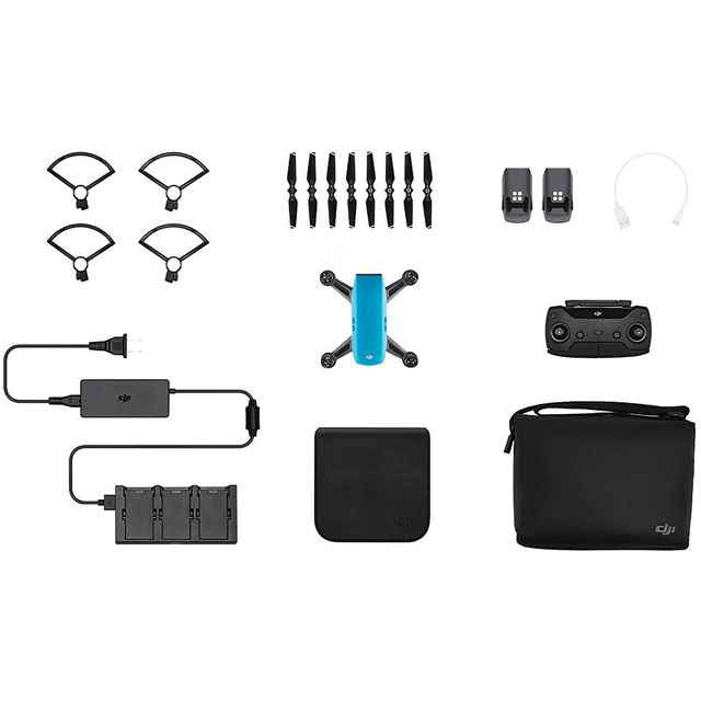 DJI Spark Fly More Combo Drone - Blue