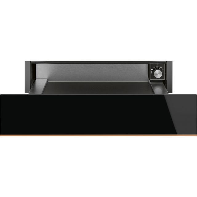 Smeg Dolce Stil Novo CPR615NR Built In Warming Drawer - Black / Copper - CPR615NR_BKC - 1