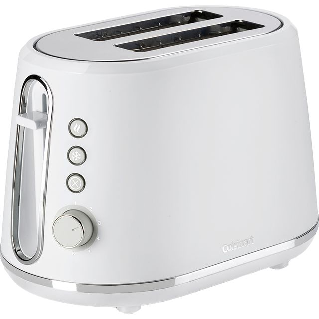 Image of Cuisinart Neutrals CPT780WU 2 Slice Toaster - Pebble