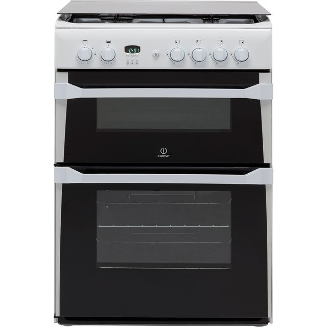 Indesit Advance ID60G2W Gas Cooker - White - A+/A Rated