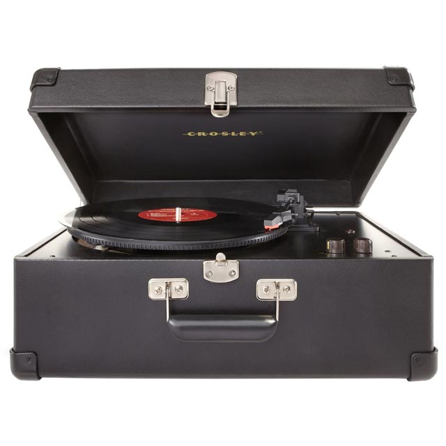 Crosley Keepsake CR6249A Record Turntable with USB - Black