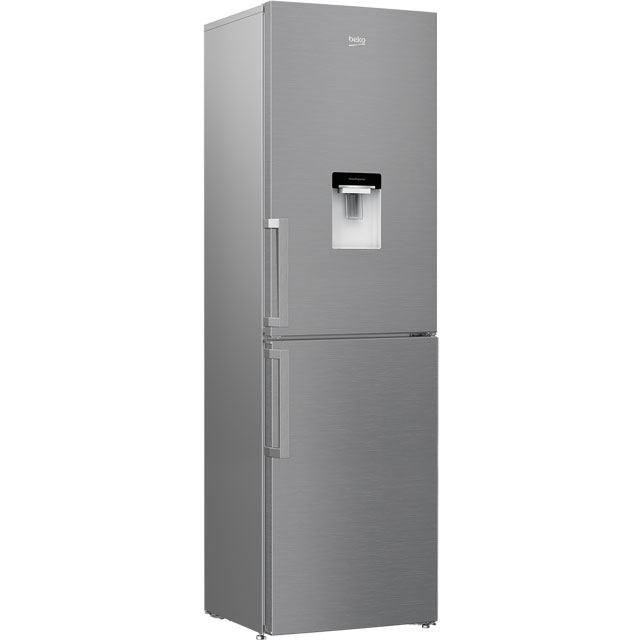 Beko CRFP1601DPS 50/50 Frost Free Fridge Freezer - Silver - A+ Rated - CRFP1601DPS_SI - 1