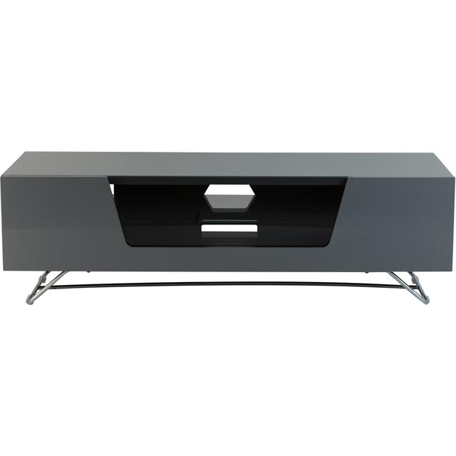 Alphason Chronium CRO2-1200CB-GRY 2 Shelf TV Stand - Grey - CRO2-1200CB-GRY - 1