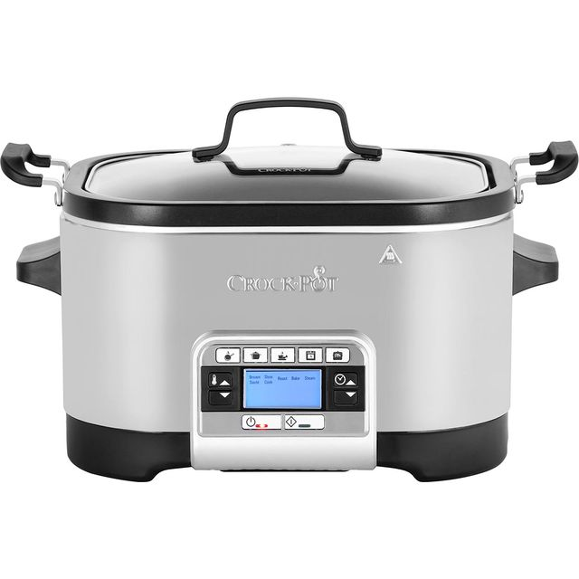 Crockpot CSC024 5.6 Litre Multi Cooker - Stainless Steel