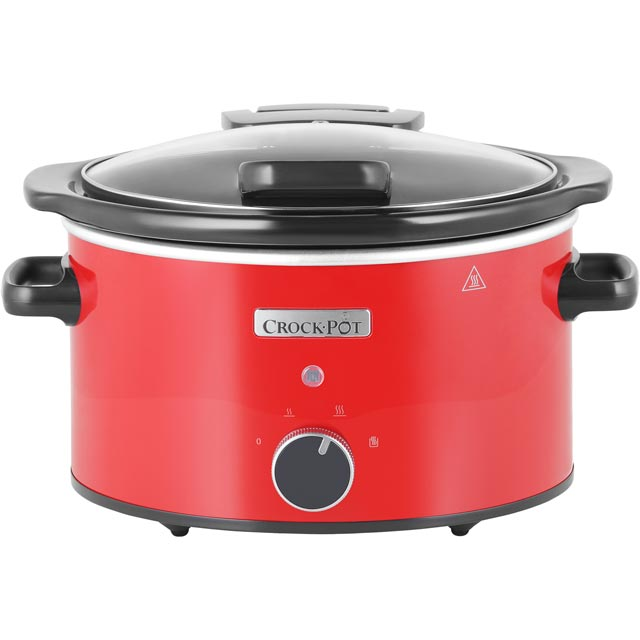 Image of Crockpot Slow Cooker in Red