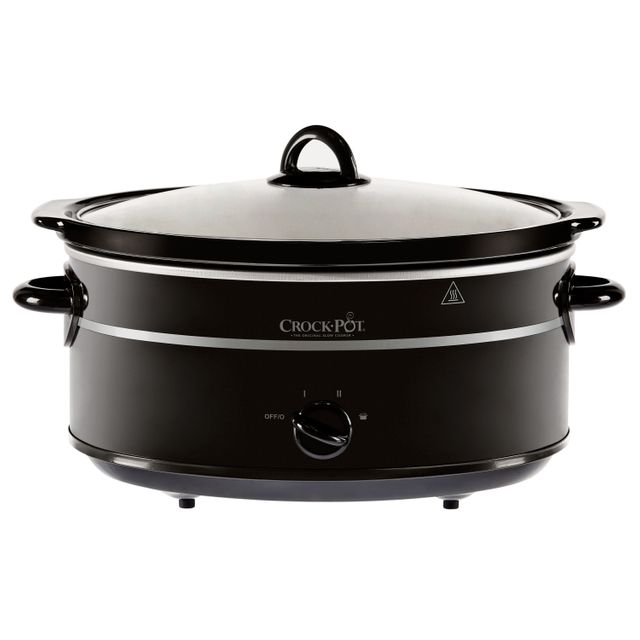 Crockpot SCV655B-IUK 6.5 Litre Slow Cooker - Black