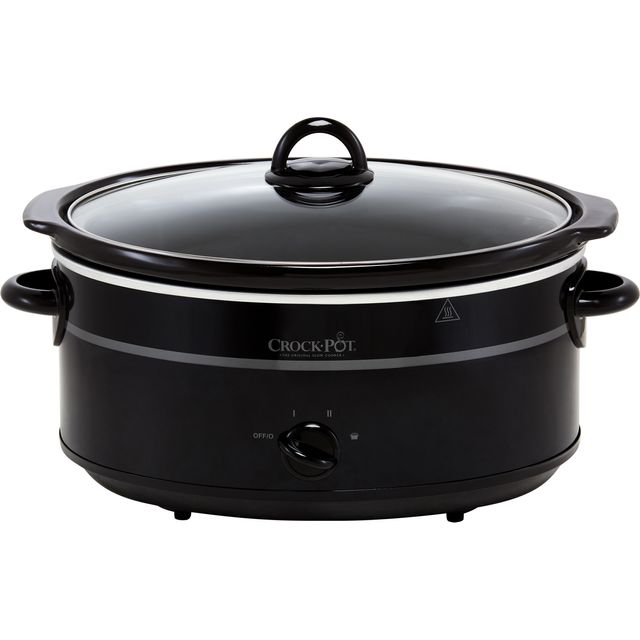 Image of Crockpot SCV655B-IUK 6.5 Litre Slow Cooker - Black
