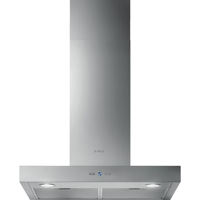 Elica CRUISE-60 60 cm Chimney Cooker Hood - Stainless Steel - B Rated - CRUISE-60_SS - 1