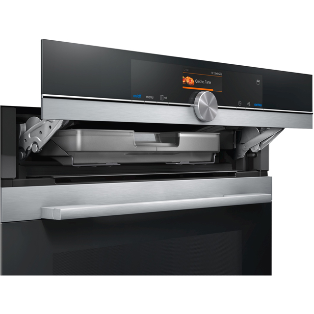Siemens IQ-700 CS656GBS7B Built In Electric Single Oven - Stainless Steel - CS656GBS7B_SS - 4