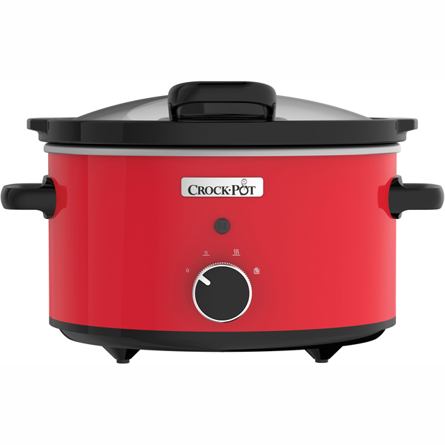 Crockpot CSC037 Slow Cooker in Red