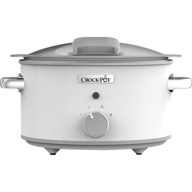 Crockpot CSC038 4.5 Litre Slow Cooker - White