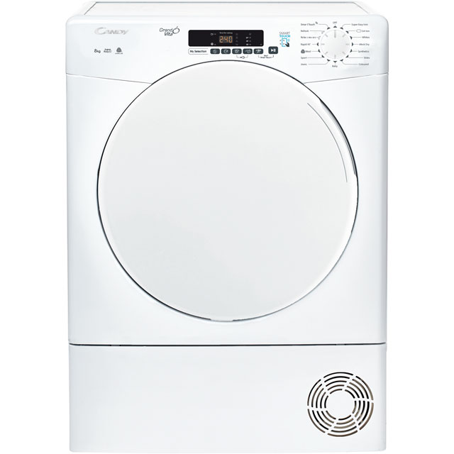 Candy Smart Free Standing Condenser Tumble Dryer in White