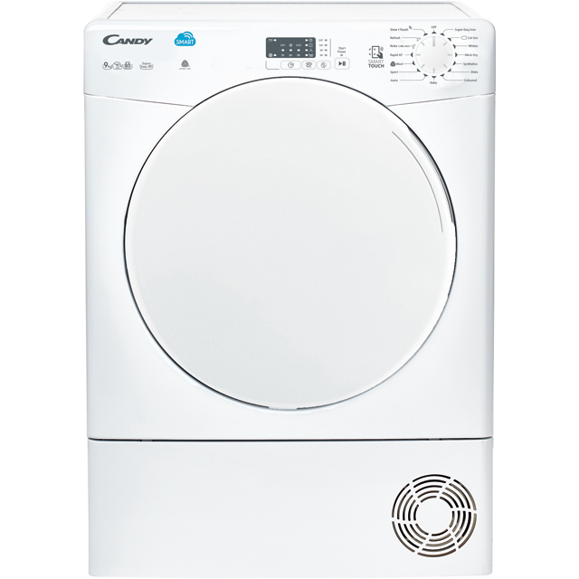Candy CSC9LF 9Kg Condenser Tumble Dryer - White - CSC9LF_WH - 1