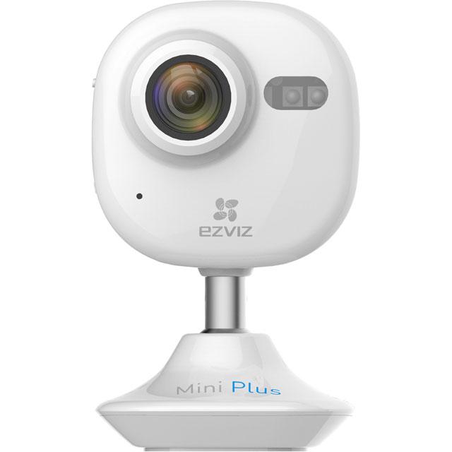 EZVIZ Mini Plus Wi-Fi Indoor Cloud Camera CS-CV200-A1-52WFRwhite Smart Home Security Camera in White