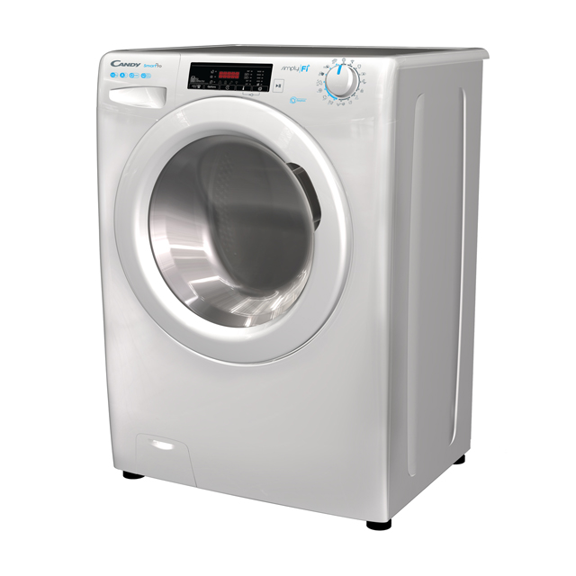 Candy Smart Pro CSO16105D3 Wifi Connected 10Kg Washing Machine with 1600 rpm - White - A+++ Rated - CSO16105D3_WH - 1