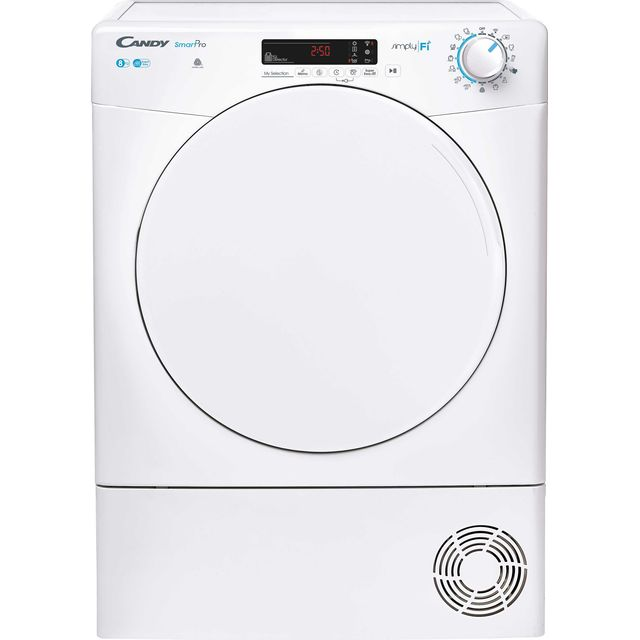 Candy Smart Pro CSOC8DF 8Kg Condenser Tumble Dryer - White - B Rated