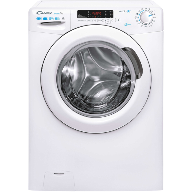 Candy Smart Pro CSOW4955DC/1 Wifi Connected 9Kg / 5Kg Washer Dryer with 1400 rpm - White - CSOW4955DC/1_WH - 1