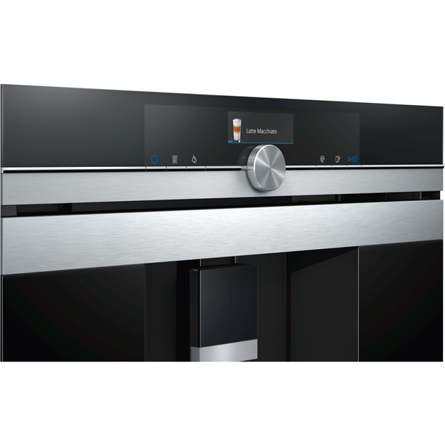 Siemens Iq 700 Ct636les6 Wifi Connected Built In Bean To Cup Coffee Machine Stainless Steel