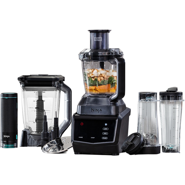 Ninja Smart Screen CT670UKV Food Processor With 6 Accessories - Black