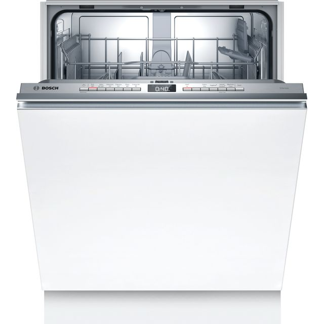 Bosch Serie 4 SGV4HTX27G Fully Integrated Standard Dishwasher - Stainless Steel Control Panel - E Rated