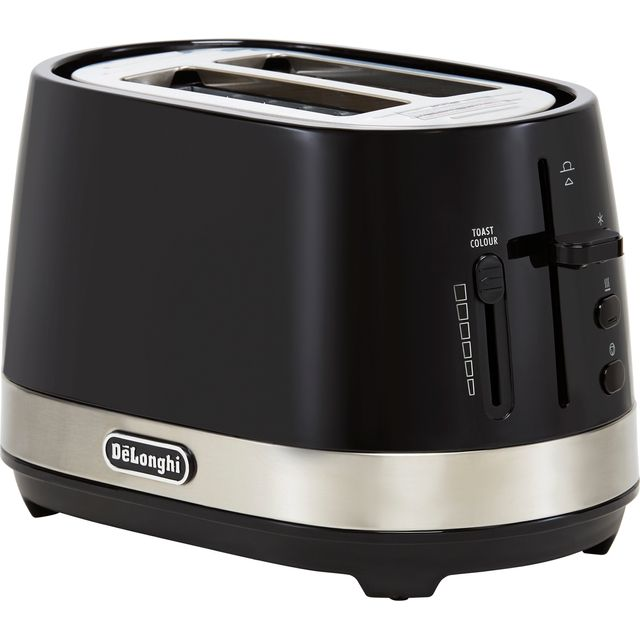 Image of De'Longhi Active Line CTLA2003.BK 2 Slice Toaster - Black