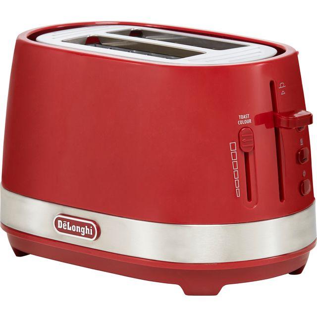 Image of De'Longhi Active Line CTLA2003.R 2 Slice Toaster - Red
