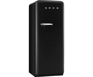 Smeg Right Hand Hinge CVB20RNE1 Upright Freezer - Black - A+ Rated