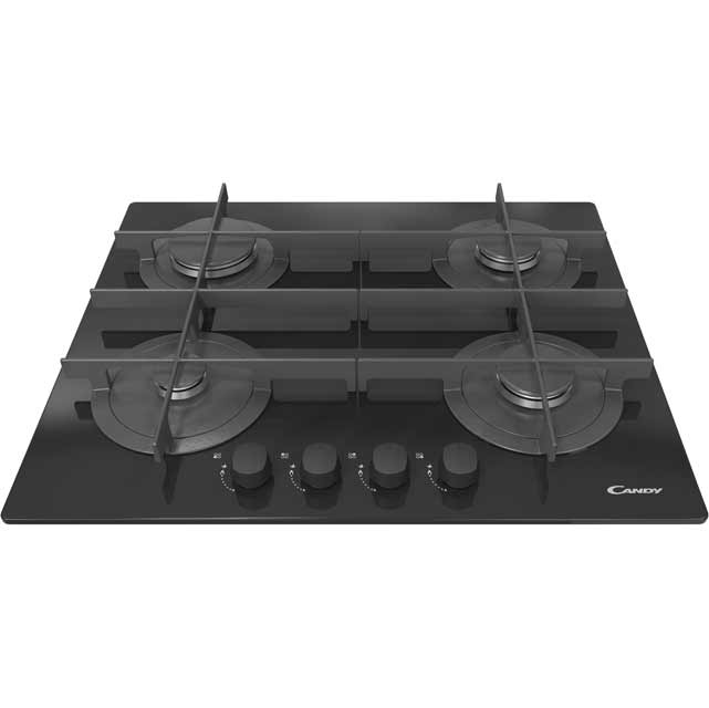 Candy CVG64STGN 60cm Gas Hob - Black