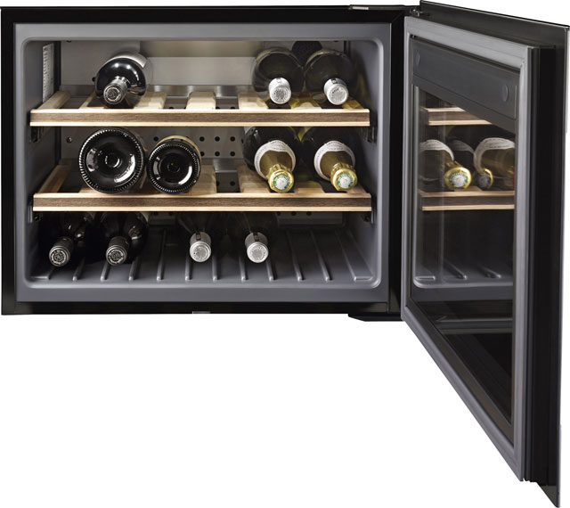 Smeg Classic CVI318X Built In Wine Cooler - Stainless Steel / Glass - CVI318X_SS - 2