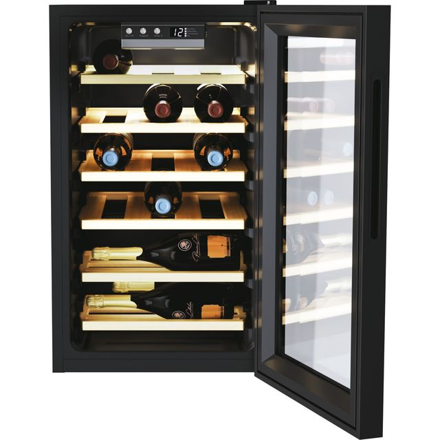 Candy DiVino CWC021ELSPK Wine Cooler - Black - B Rated